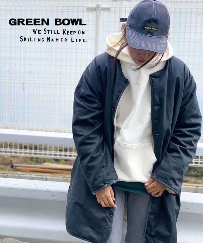 グリーンボウル【GREEN BOWL】G.B.Sweat Parka