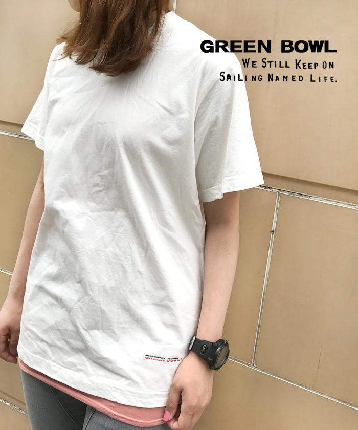 グリーンボウル 【GREEN BOWL】short sleeve T-shirts
