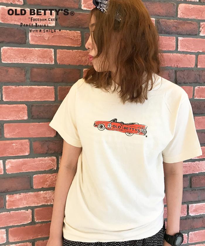 グリーンボウル 【GREEN BOWL】Cadillac Print T-shirts