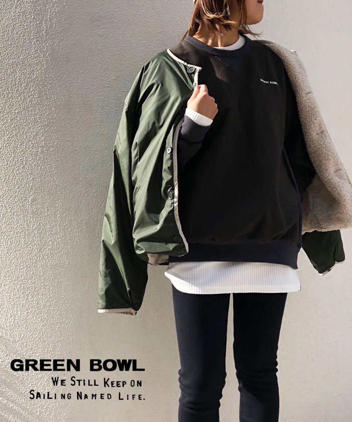 グリーンボウル【GREEN BOWL】Sweat Shirts