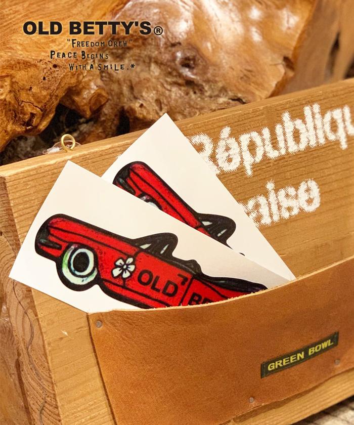 オールドベティーズ 【OLD BETTY'S】Cadillac sticker