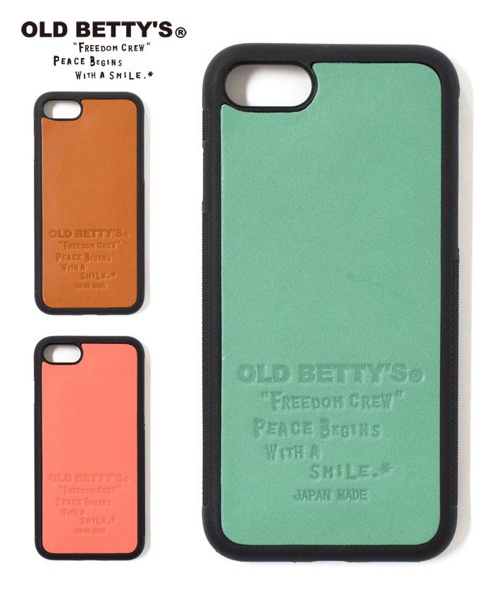 OLD BETTY'S オールドベティーズ レザー アイフォン カバー iPhone 7