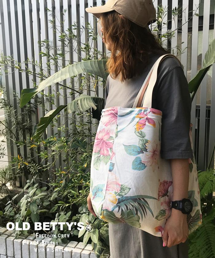 オールドベティーズ【OLD BETTY'S】 Reversible Tote Bag