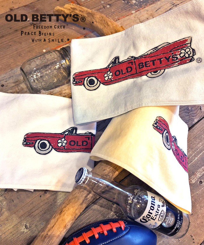 【日本製】【Web限定】オールドベティーズ 【OLD BETTY'S】Cadillac Towel