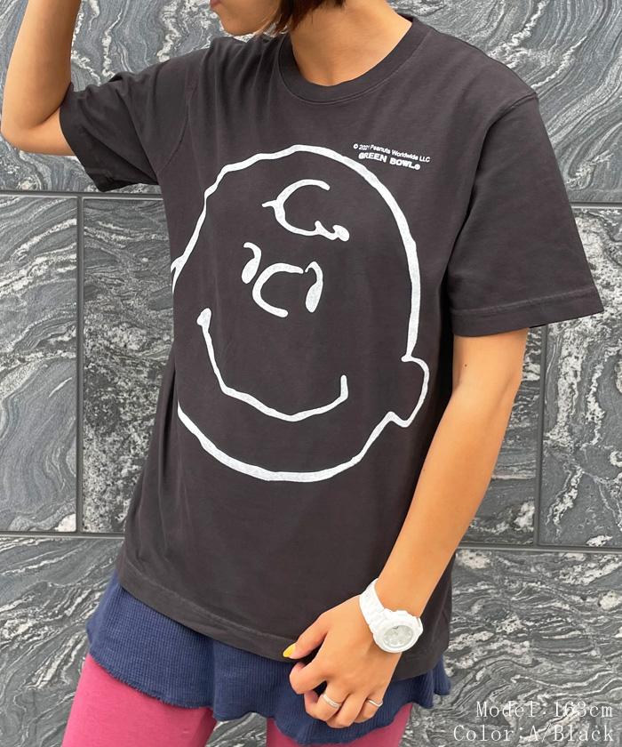 スヌーピー【SNOOPY】Vintage-like T-shirts