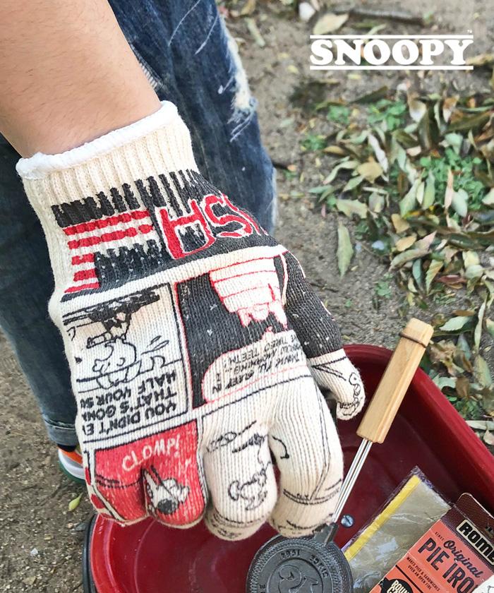 【日本製】スヌーピー 【SNOOPY】 Gardening Glove