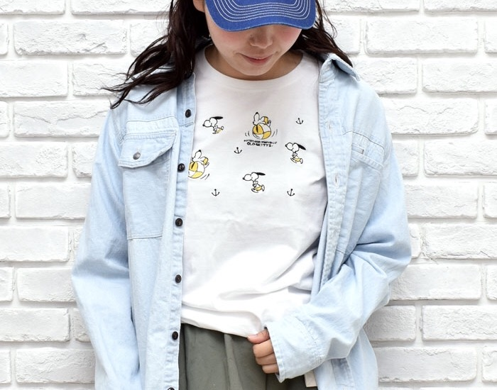 SNOOPYロングTシャツ