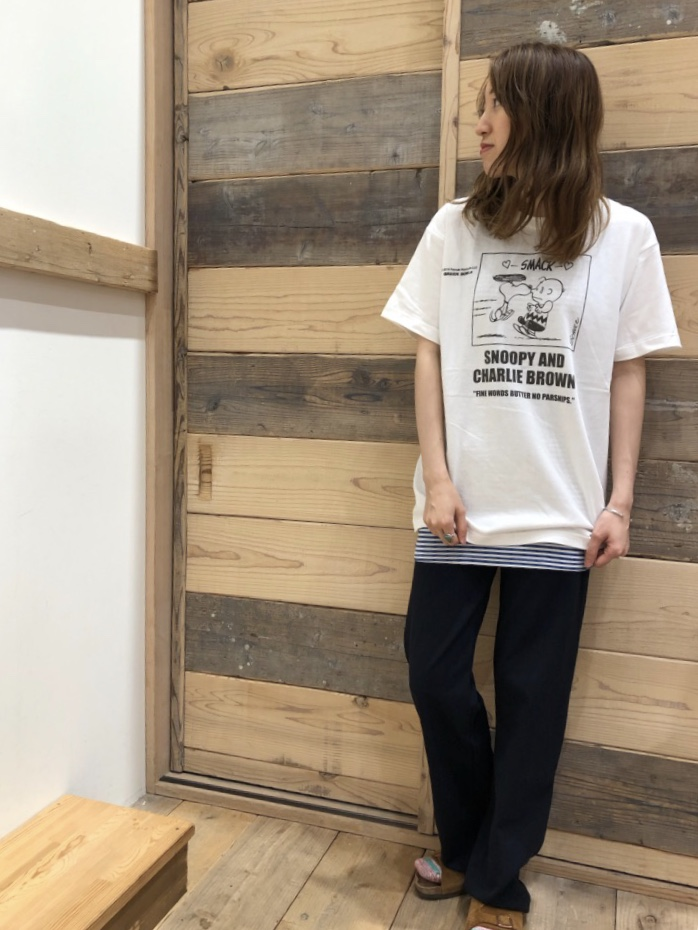 人気のSNOOPY Tシャツ☆