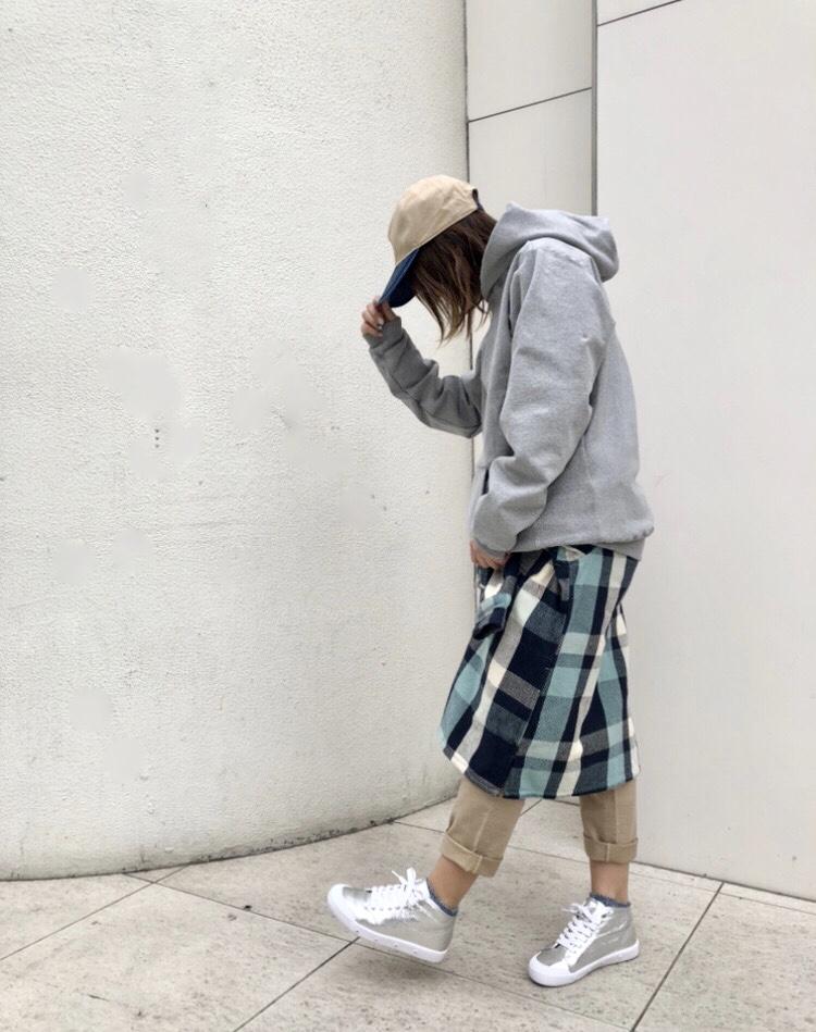 スカート風コーデ♪