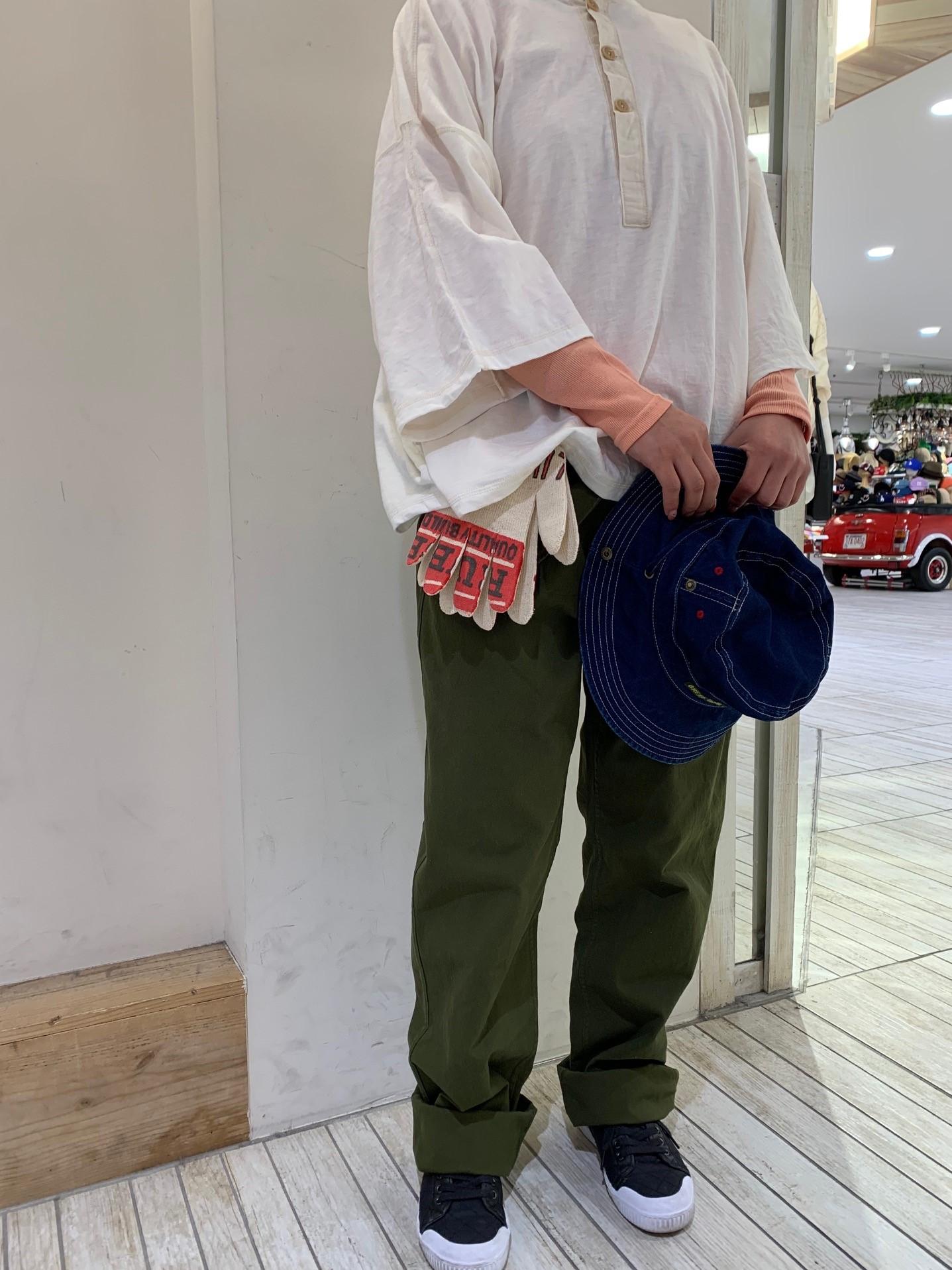 ワイドTコーデ☆