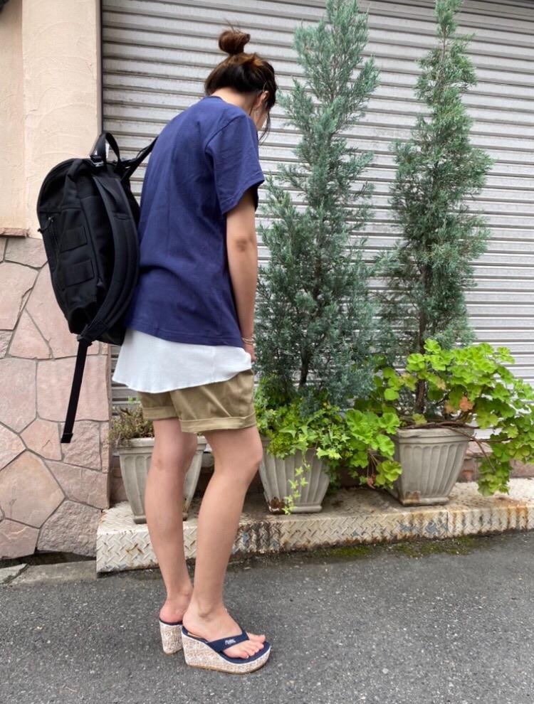 ショートパンツコーデ☆