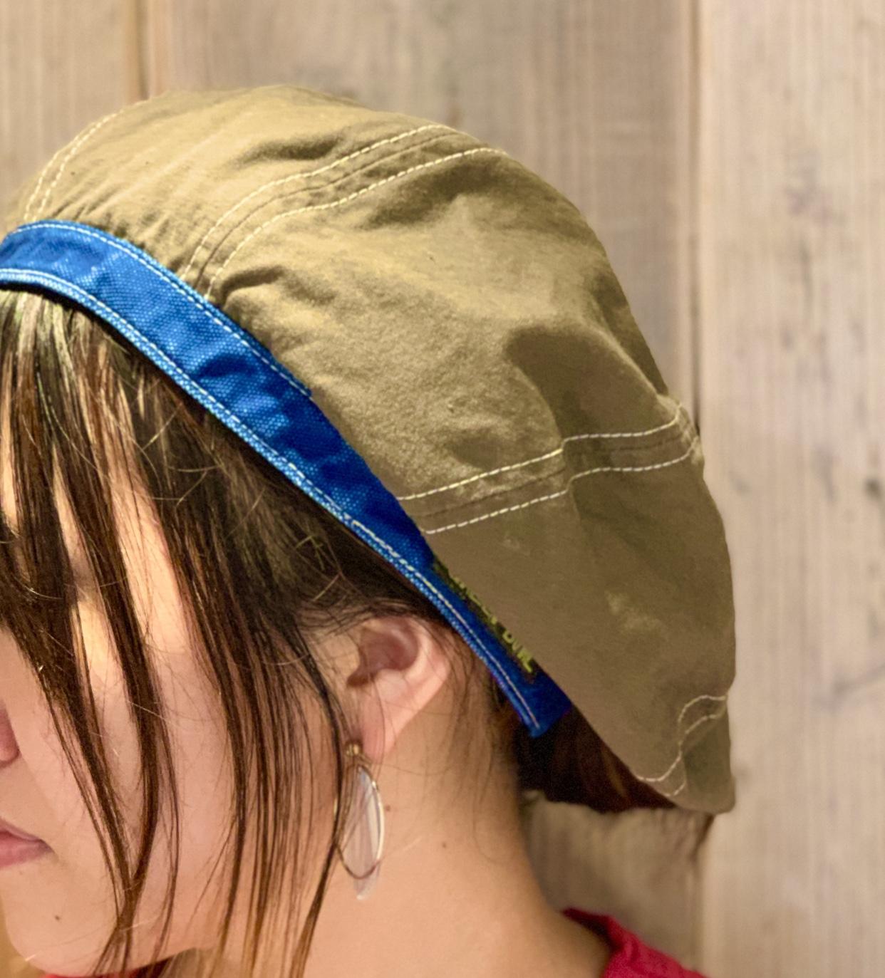 ベレー帽がオススメですよ◉